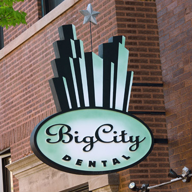 dentist signs customized outdoor signs Chicago