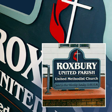 church outdoor signs custom chicago church signage