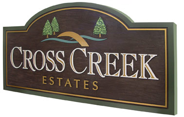 subdivision sign designs commercial sandblasted signs chicago strata